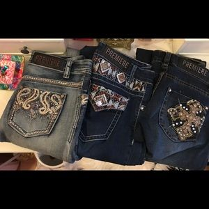 Bundle of 3 pairs of Rue21 jeans